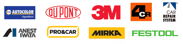 Logotipos marcas de pintura